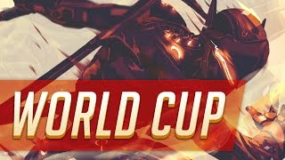 Overwatch World Cup Highlights #2 • Seagull Shadowburn Iddqd • USA Russia Sweden Spain Korea