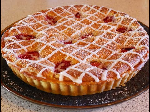 How To Make A Strawberry Bakewell Tart