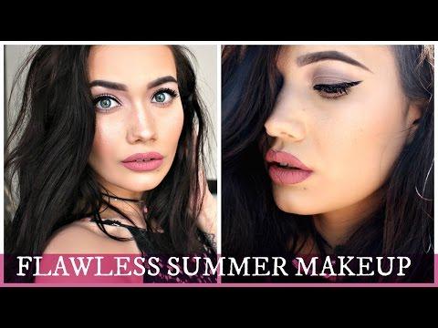 Flawless Summer Makeup Tutorial | Carli Bybel BHcosmetics Palette thumbnail