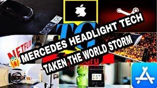 Tech Talks #16- Mercedes Headlight Technology Communicate With Lights