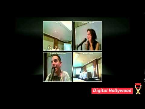 Digital Hollywood Content Summit 2012: Pitching, Developing and Crowdfunding a Hit Web Series