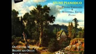 "Izumi Pianoduo plays R. Schumann ""Manfred"""