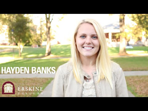 Hayden Banks Interview - Erskine College
