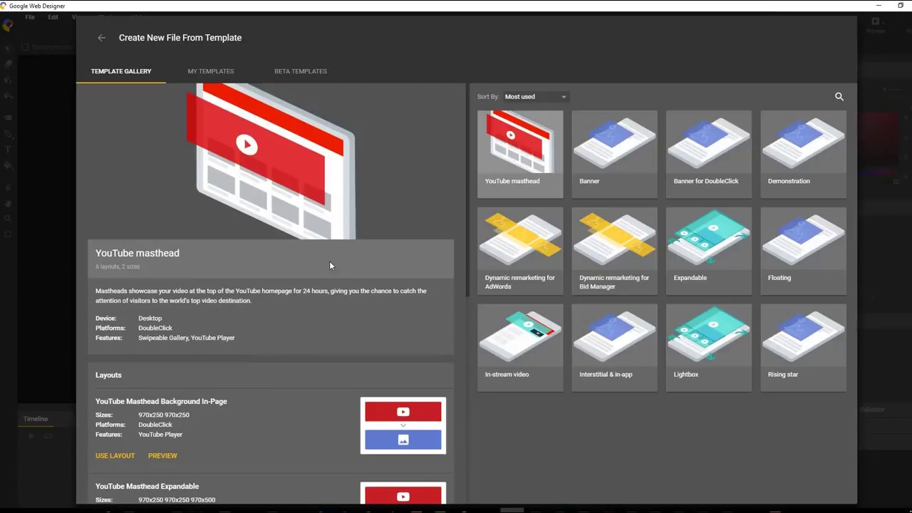 How to...Motion Paths Overview - Google Web Designer - YouTube