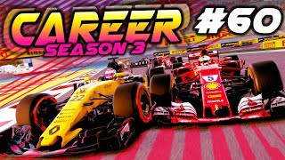 F1 2017 Career Mode Part 60: CHAMPIONSHIP DECIDER ROLLERCOASTER RACE