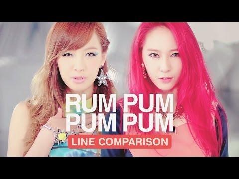 F(X) - Rum Pum Pum Pum (Line Comparison)