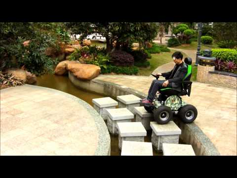 Powerful features 4x4 Wheelchair, from the observer