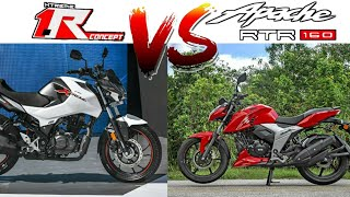 Hero Xtream 160r BS6 VS TVS Apache RTR 160 4V BS6 | Which One You Choose?