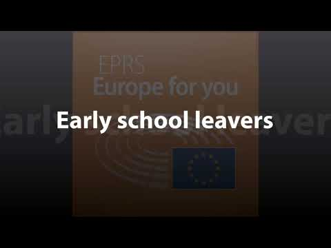 Early school leavers [What Europe does for you]
