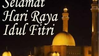 Kartu Lebaran Ucapan Selamat Hari Raya Idul Fitri