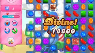 Candy Crush Soda   level 444 no boosters