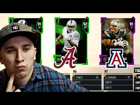 Only Allowed To DRAFT Players IF I Know Where They Went To College! Madden 18 Draft!