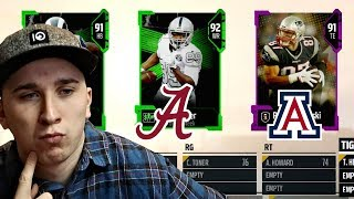 Only Allowed To DRAFT Players IF I Know Where They Went To College Madden 18 Draft