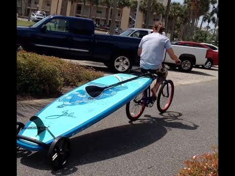 How2 SUP BIKE with SUP Wheels