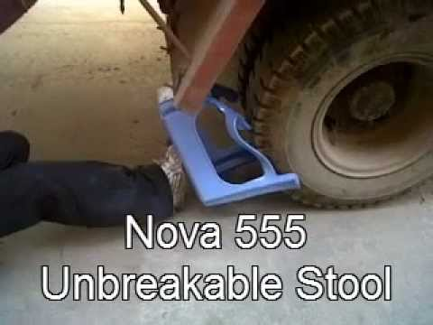 RATAN PLASTIC - Unbreakable Stool Demo.avi