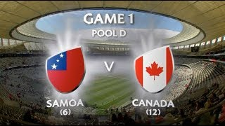 Day 1- Pool D Cape Town Sevens 2017.