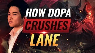 How Dopa is CRUSHING Korean Challenger With His Impeccable Wave Management - League of Legends