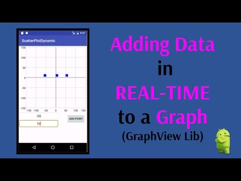 Adding Data Points in REAL-TIME to a Graph (Android GraphView Lib)
