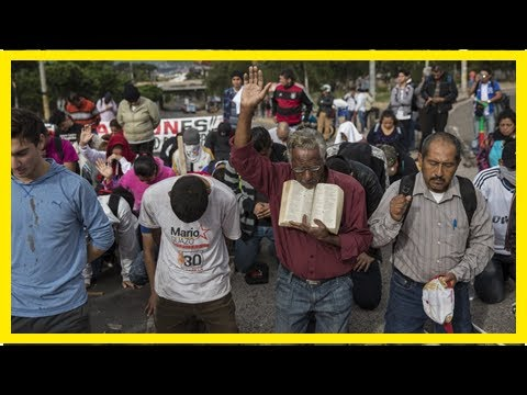 World News - The protest rising as vote count in honduras pulling