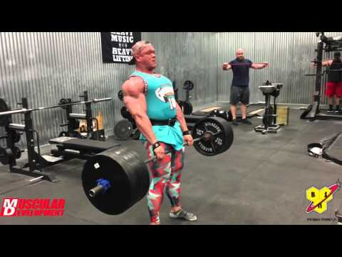 Dallas McCarver Trains Back & Reaches a Deadlift Goal of 800lbs+
