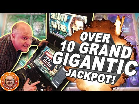 💥GIGANTIC JACKPOT! 💥Over 10 Grand on Shadow of the Panther FREE GAMES! - The Big Jackpot - 동영상