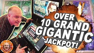 💥GIGANTIC JACKPOT! 💥Over 10 Grand on Shadow of the Panther FREE GAMES! | The Big Jackpot