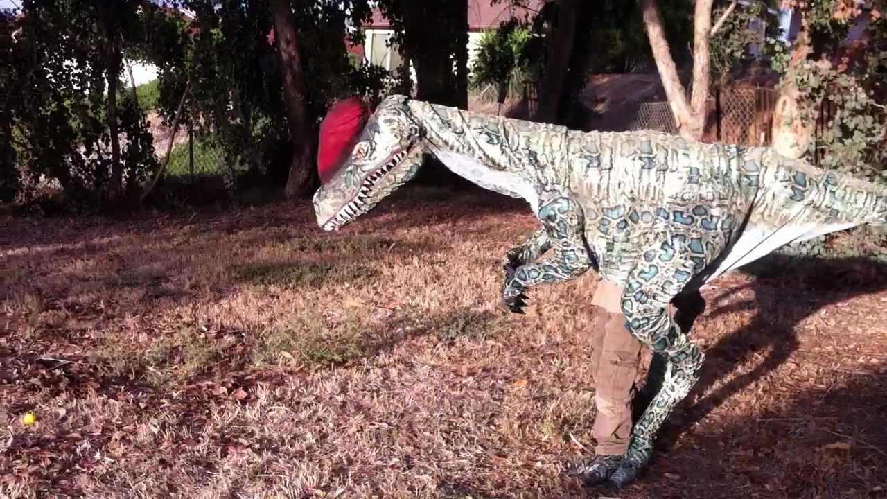Youtube T Rex Costume