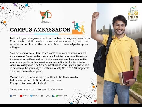 New India Conclave Campus ambassador