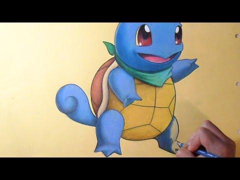 Coloriage Carapuce Pokemon Youtube
