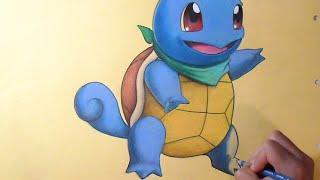 Coloriage Carapuce (Pokémon)