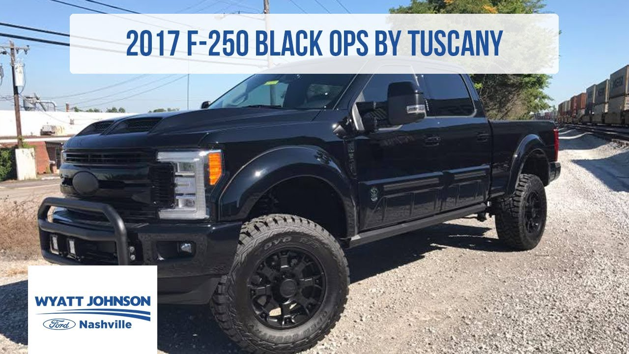 2017 ford f 250 super duty black ops by tuscany for sale. Black Bedroom Furniture Sets. Home Design Ideas