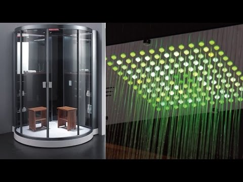 Ariel Platinum Steam Sauna Shower With 20 Acupressure Body Jets For Massage  Therapy   YouTube