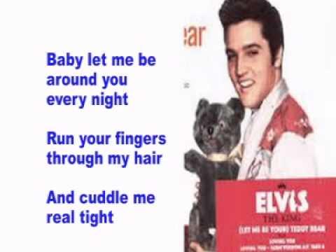 Elvis Presley- Teddy Bear- Cover With Lyrics (Pattarasila59)