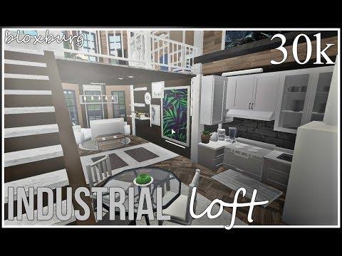 Bloxburg || Industrial Loft 30k