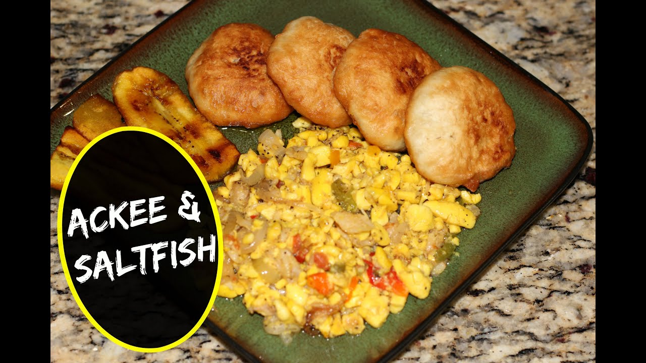 Authentic jamaican ackee and saltfish recipe the for Salt fish ackee