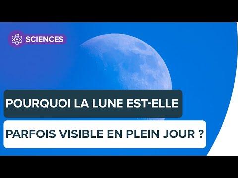 Pourquoi peut-on voir la Lune en journée ? |Futura