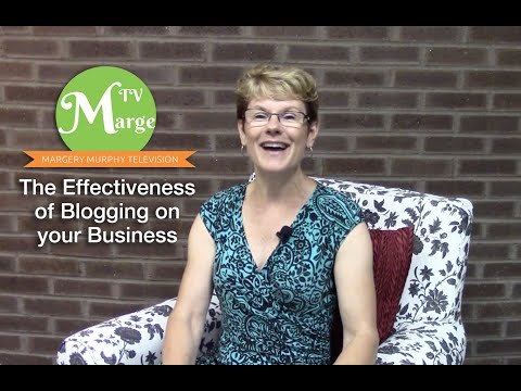 The Effectiveness of Blogging on Your Business