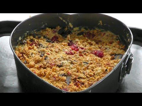 Chocolate raspberry & almond CAKE How to cook recipe