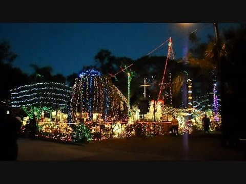 Christmas Light Show The Biggest In Tampa Bay Florida