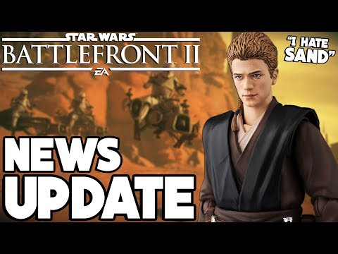 NEWS UPDATE! Huge Geonosis Changes, Anakin Skywalker Sand Dialogue and More! Star Wars Battlefront 2