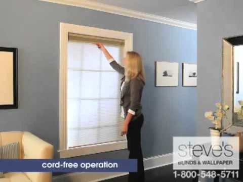 graber cellular shades bow window graber daynight cellular shades cordless operation youtube