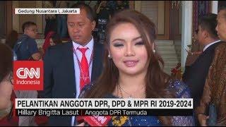 Hillary Lasut, Anggota Termuda DPR RI yang Pimpin Pelantikan