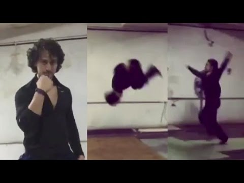 Tiger Shroff Real Life STUNT Training...