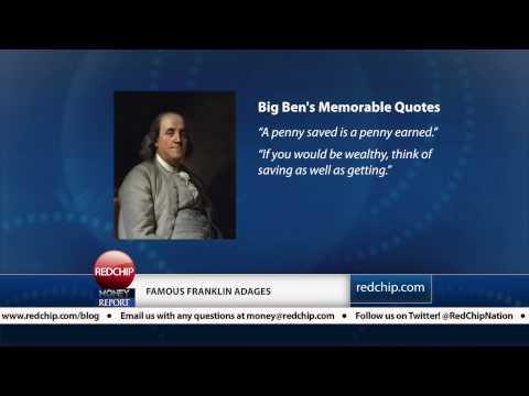 """""""Poor Richard's Almanac"""" by Benjamin Franklin: RedChip Book Review (April 27, 2013)"""