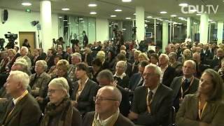 """CDU Fachgespräch Europa mit Schäuble und Waigel:: """" Wir müssen zur Stabilitätsunion werden"""""""