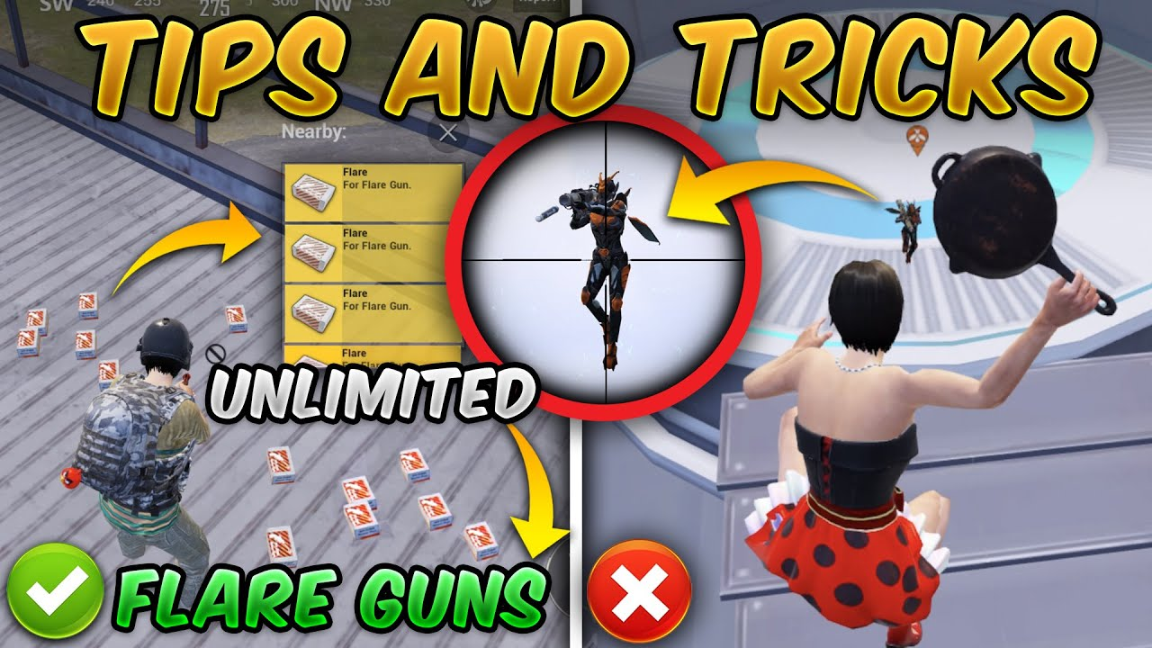 Download Tips & Tricks (PUBG MOBILE) Traverse - Insectoid Guide/Tutorial (Unlimited Flare Gun Glitch)