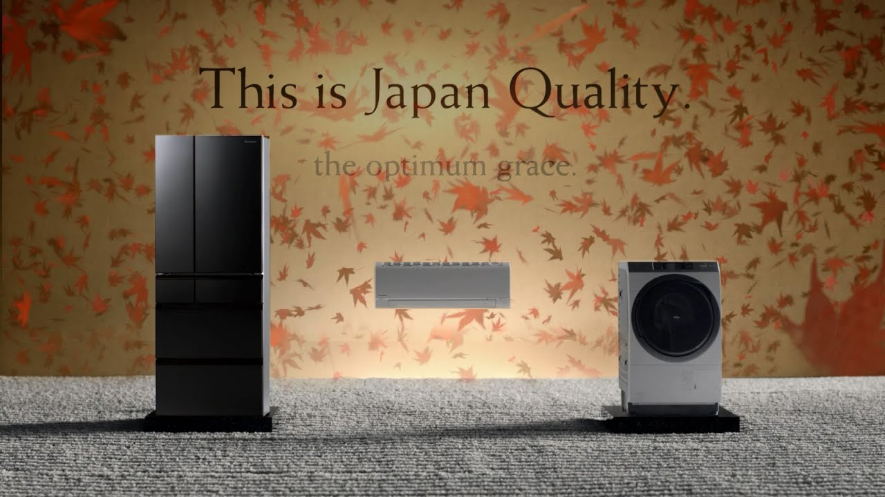 Japan Quality - Panasonic Air Conditioner Fridge Washer TVC 30s