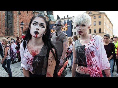 Stockholm Zombie Walk 2017