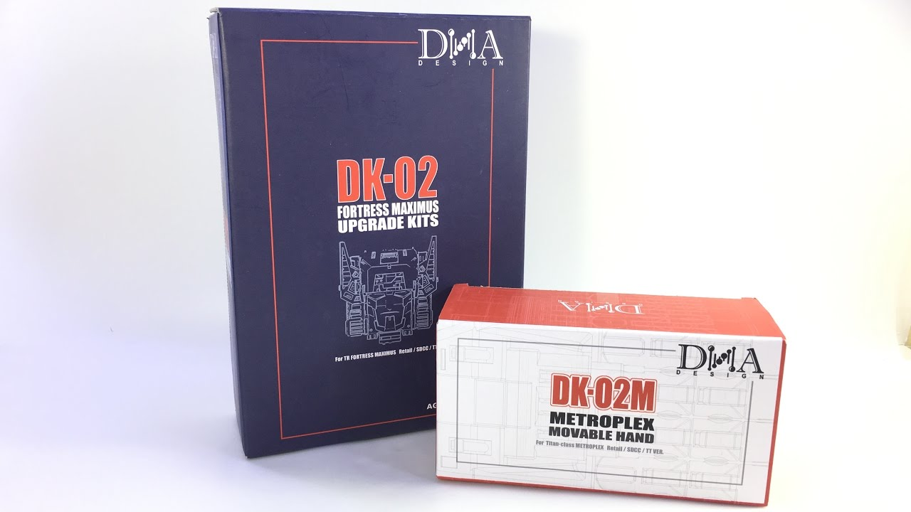 New DNA Design DK-02 Upgrade Kit For Transformers IDW Fortress Maximus In Stock