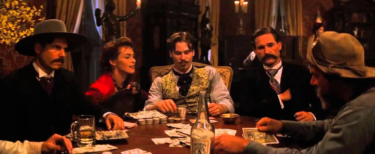 """the resurrection of the western genre in the movie tombstone Evolution of the western genre while the duke would play a variety of roles in different types of movies, it was the western for """"tombstone ,"""" starring."""